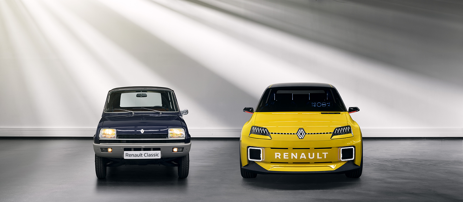 The original Renault R5 and its descendant