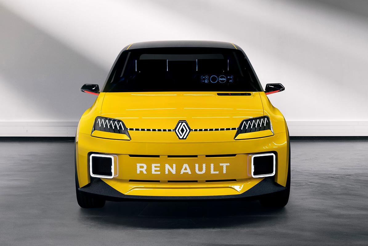 renault 5 prototype face avant