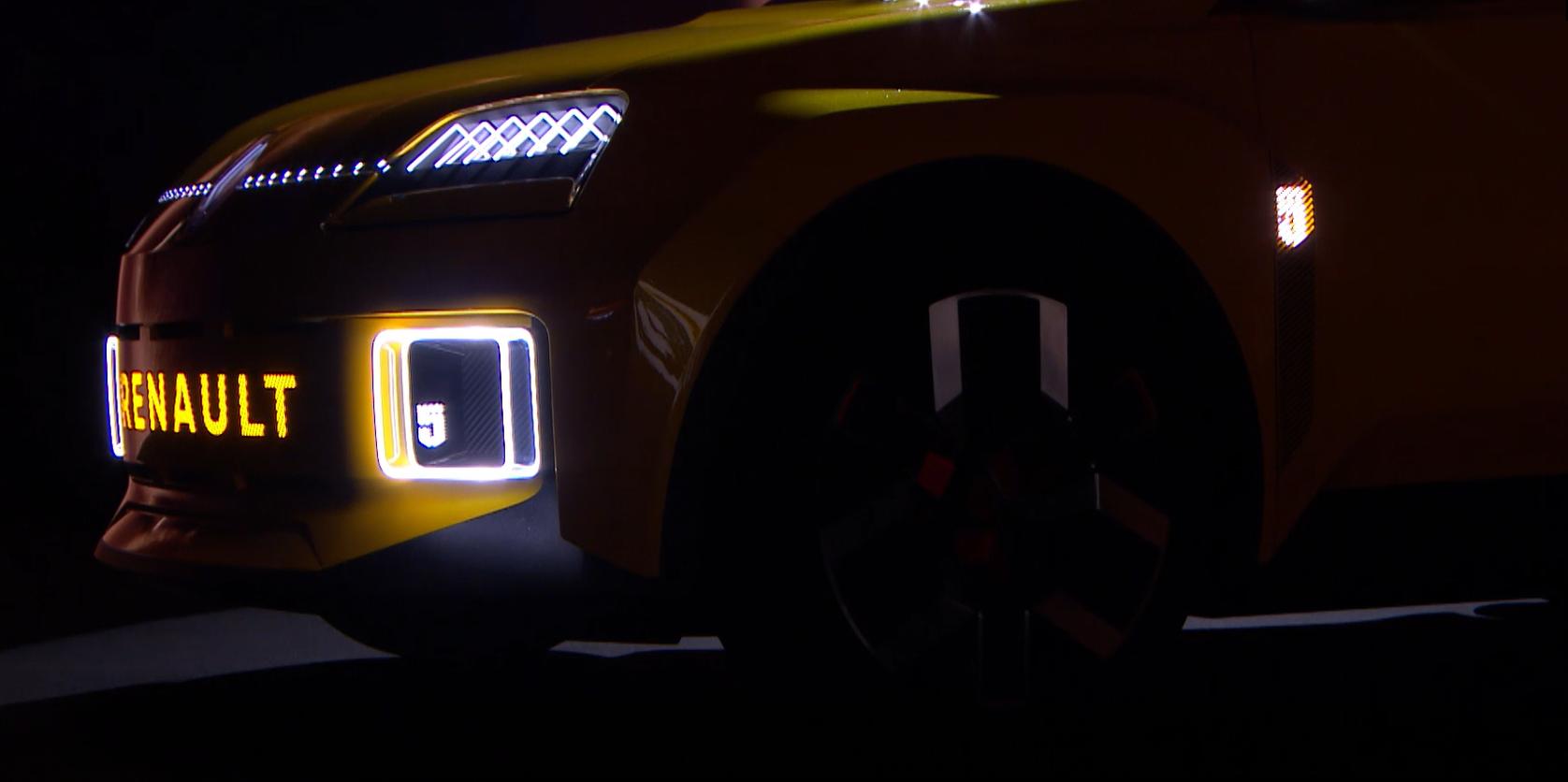 Projecteurs et feux de jour Renault 5 Prototype