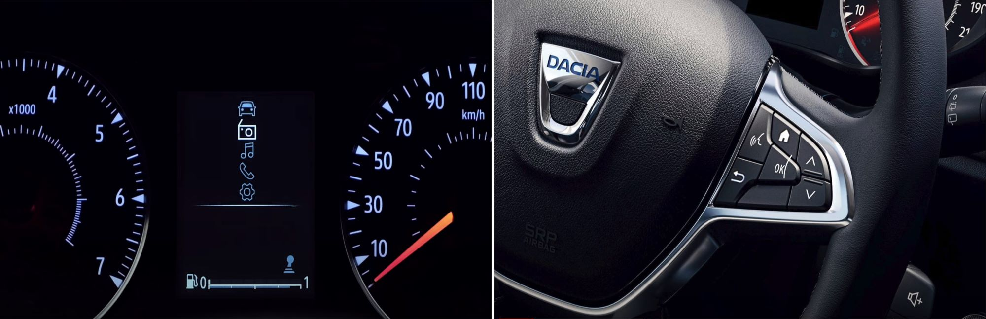 media control Dacia Sandero