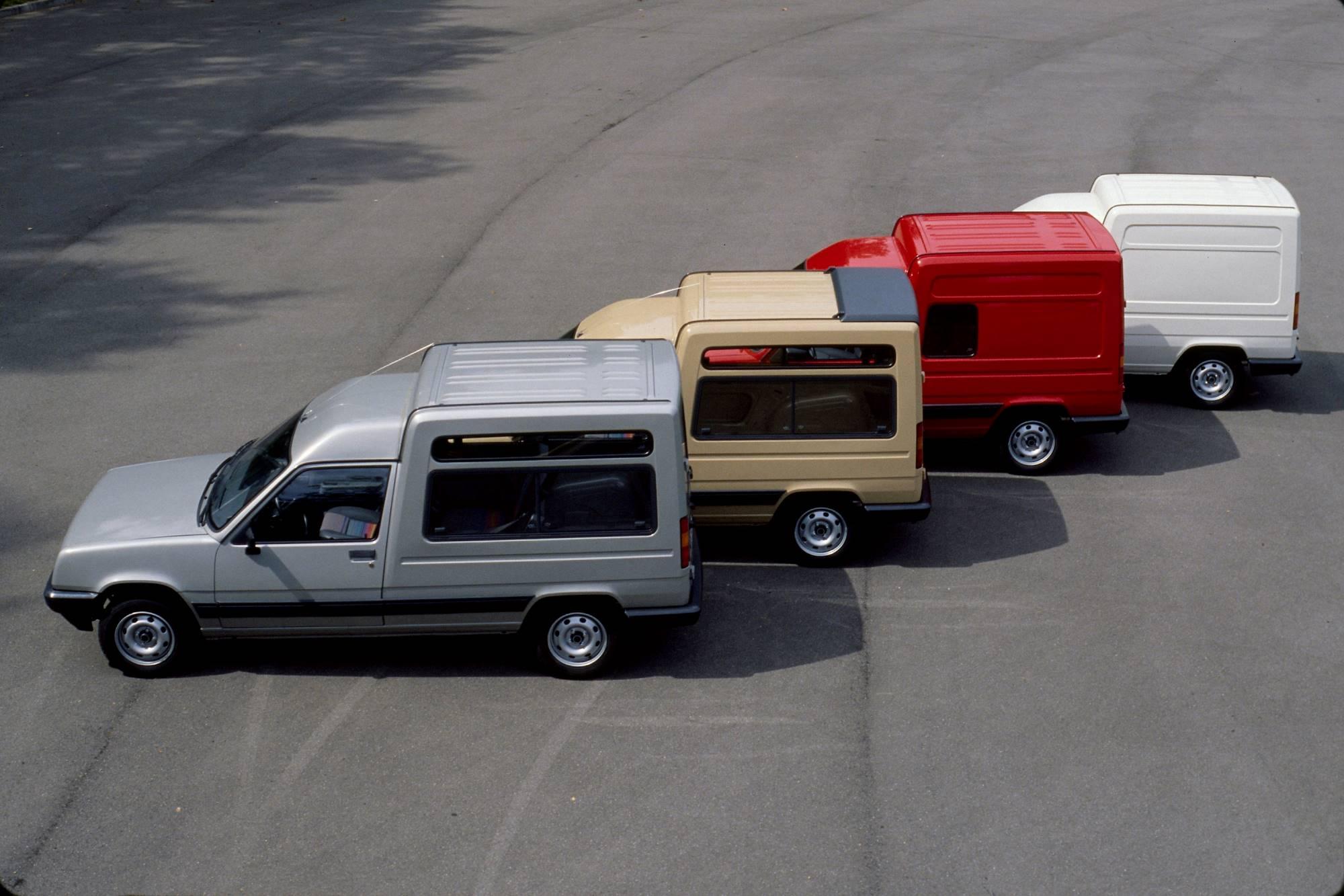 Saga Renault Express: l'utilitaire à vivre
