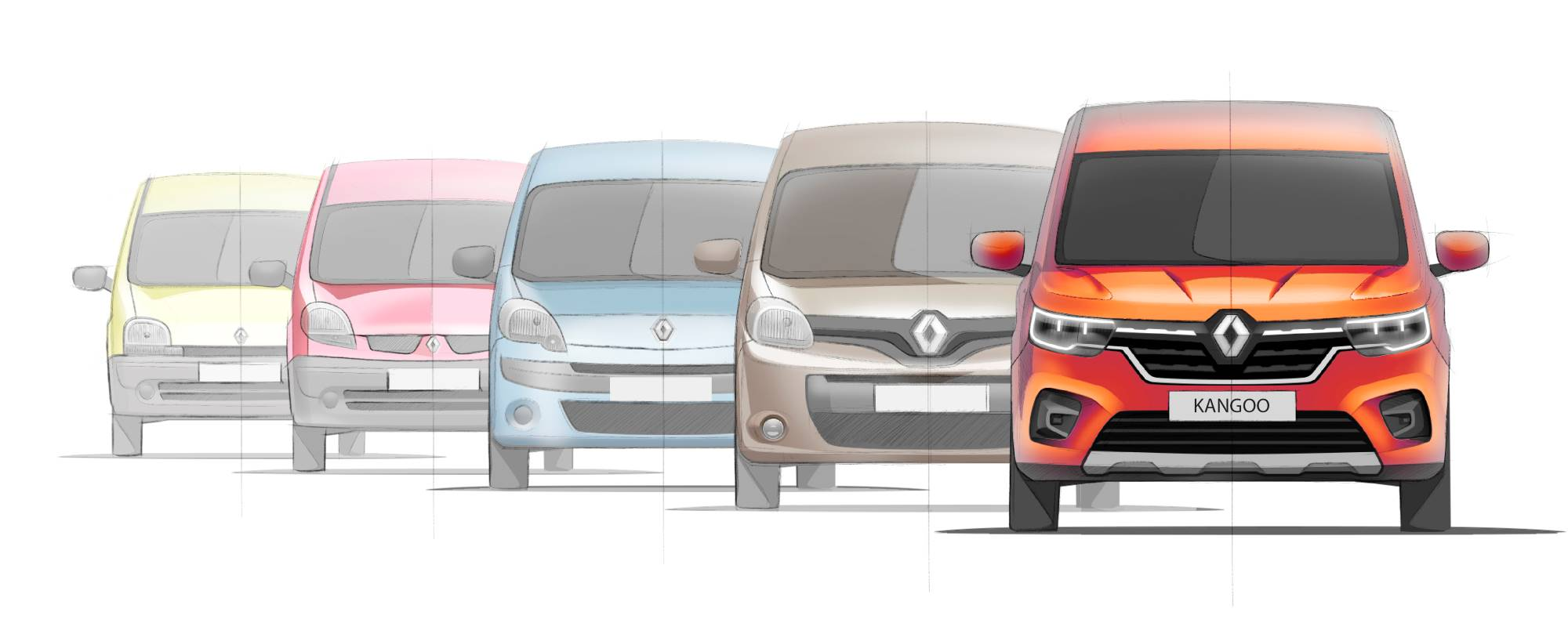 Saga Renault Kangoo: LCV and ludospace, the best of both worlds