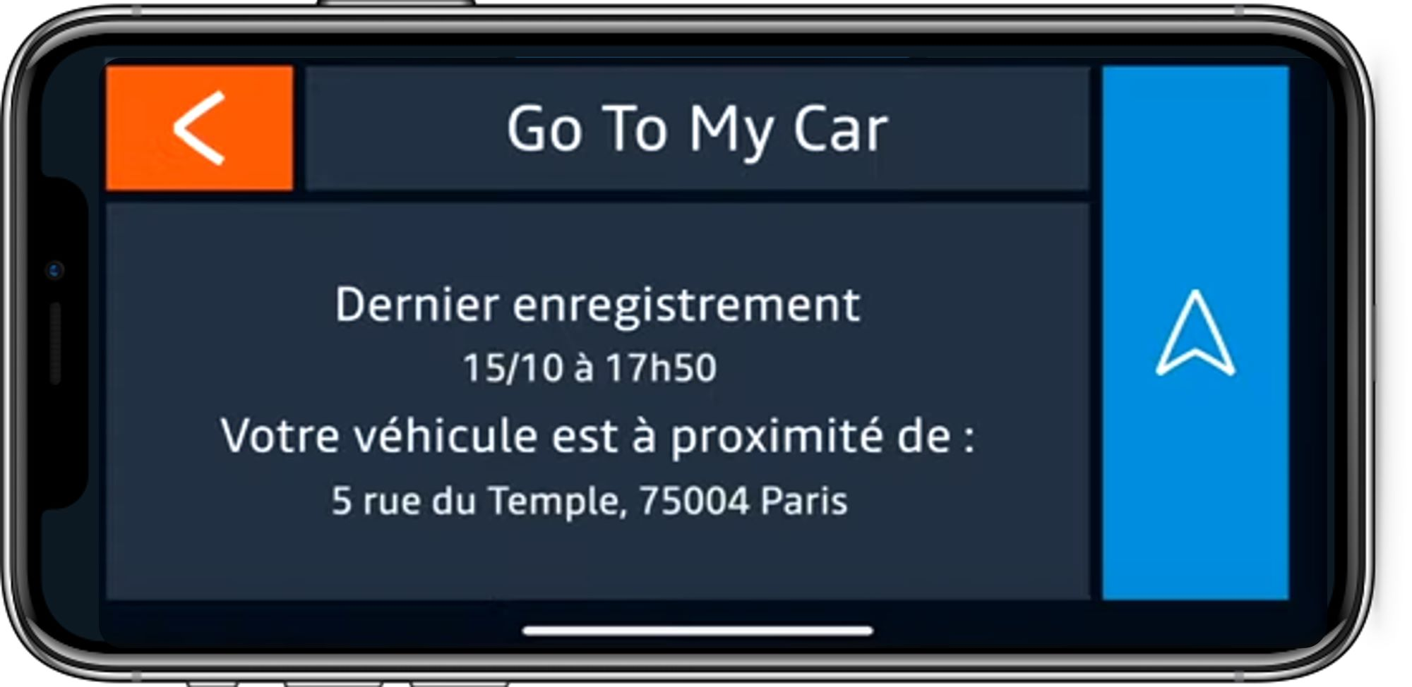 go to my car
