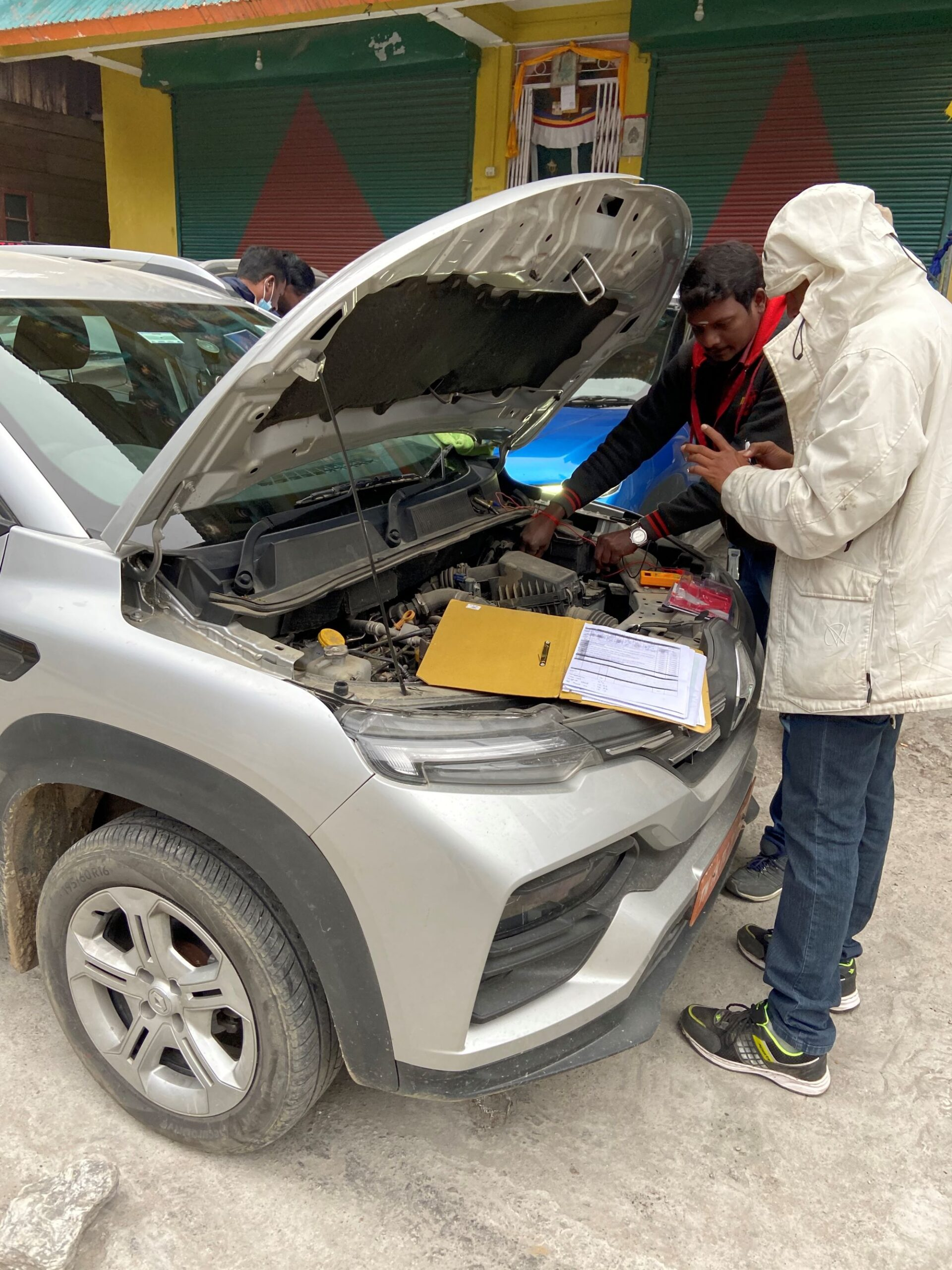 Numerous robustness and durability tests are carried out on Renault Kiger