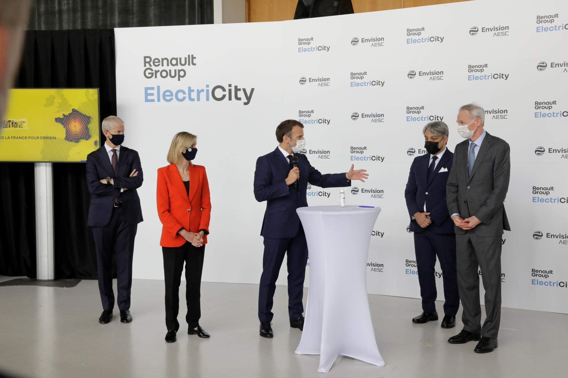 L'usine de Douai désormais au cœur de la stratégie industrielle du Groupe pour les batteries