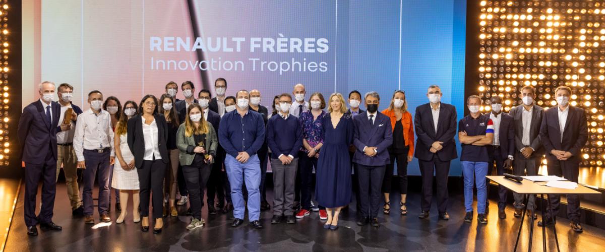 Trophées de l'innovation Renault Frères2021 : Renault Group célèbre ses meilleurs inventeurs