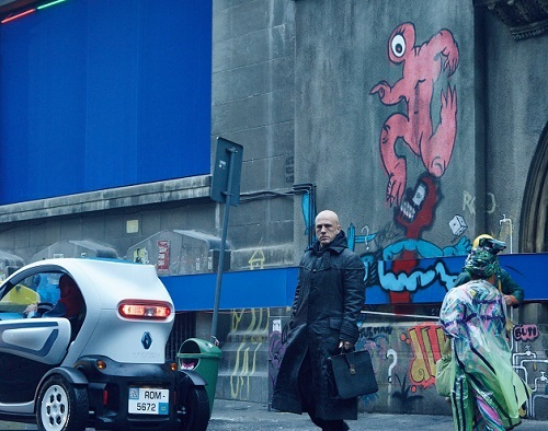 Renault Twizy Starring In The Zero Theorem Groupe Renault