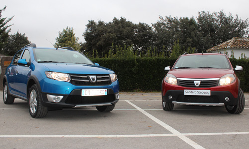 test drive dacia sandero and sandero stepway more and better for the same price groupe renault. Black Bedroom Furniture Sets. Home Design Ideas