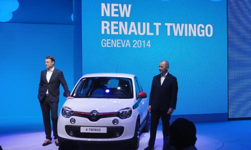 Conférence de presse Renault, Genève 2014
