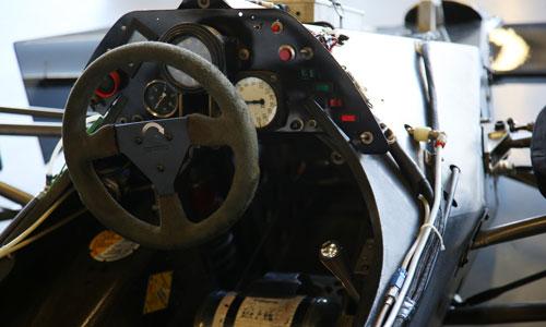 monoplace de Formule 1 Renault