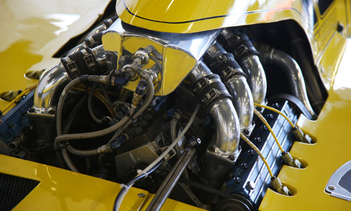 moteur turbo de Formule 1 Renault
